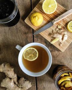 Infusion Gingembre Miel Citron